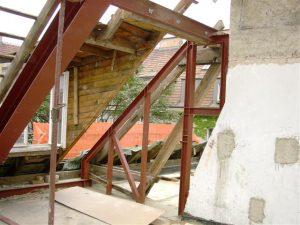 Dachbodenausbau Stahlbau Metallbau Lochmann