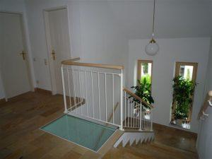 Geländerkonstruktion für innen