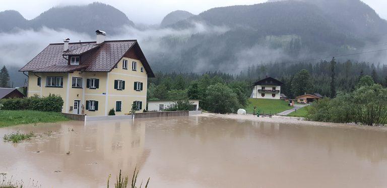 Hochwasserschutz Dammbalkensystem Lochmann