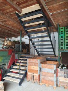 Stiegenkonstruktion
